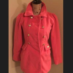 Girls Pink Total Girl Pea Winter Coat💓